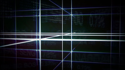 Futuristic Gridline Background 3 Animation