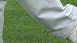 Man playing Golf Footage