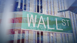 WALL STREET SIGN Animation
