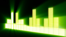 Disco Beat Waveform Live Action