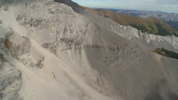 HD2009-9-33-19 aerial mountains Stock Video Footage
