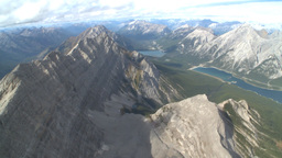 HD2009-9-33-27 aerial mountains Stock Video Footage