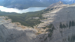 HD2009-9-33-35 aerial mountains Stock Video Footage