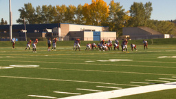 HD2009-9-36-3 high school football Stock Video Footage