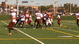 HD2009-9-36-5 high school football Stock Video Footage