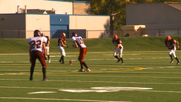 HD2009-9-36-25 high school football kickoff run Footage