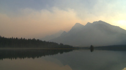 HD2009-9-38-16 smoky lake mtns Stock Video Footage