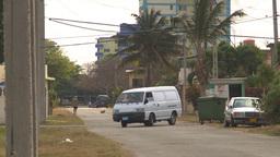 HD2009-4-7-47 Cuba sm town road Stock Video Footage