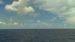 HD2008-8-11-14 ocean horizon Stock Video Footage