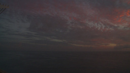 HD2008-8-11-16 ocean sunrise pan Stock Video Footage