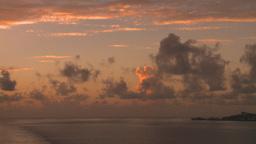 HD2008-8-11-20 ocean sunrise Stock Video Footage