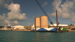 HD2008-8-12-1 Bermuda harbour Stock Video Footage