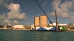 HD2008-8-12-1 Bermuda harbour Stock Video Footage
