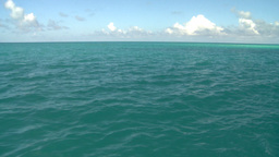 HD2008-8-12-14 cruising on water open ocean Stock Video Footage