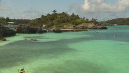 HD2008-8-12-20 in bay snorkelers Footage