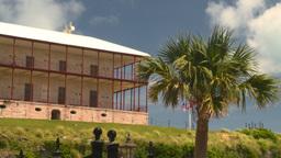 HD2008-8-12-28 Bermuda old fort Stock Video Footage