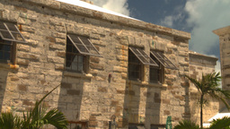 HD2008-8-12-36 Bermuda old buildings Stock Video Footage
