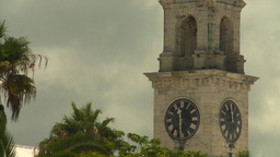 HD2008-8-12-40 Bermuda old clock tower Footage