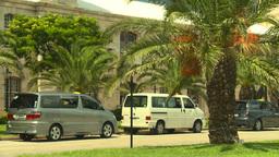 HD2008-8-12-60 Bermuda old town traffic Stock Video Footage
