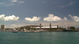 HD2008-8-13-8 Bermuda harbour Stock Video Footage