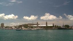 HD2008-8-13-8 Bermuda harbour Stock Video Footage
