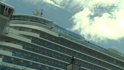 HD2008-8-13-12 cruise ship Stock Video Footage