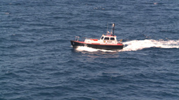 HD2008-8-13-30 pilot boat Stock Video Footage
