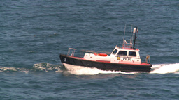 HD2008-8-13-32 pilot boat Stock Video Footage