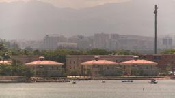 HD2008-8-13-42 San Juan from ocean Stock Video Footage