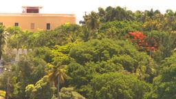 HD2008-8-13-44 San Juan trres from ocean WS Stock Video Footage