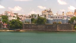 HD2008-8-13-46 San Juan from ocean Stock Video Footage