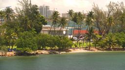 HD2008-8-13-50 San Juan from ocean Stock Video Footage