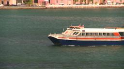 HD2008-8-14-6 San Juan ferry reveal Stock Video Footage