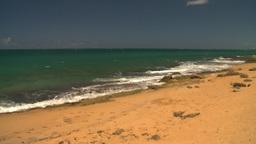HD2008-8-14-10 San Juan beach Stock Video Footage