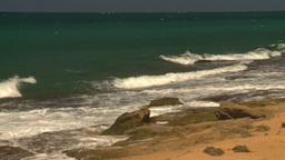 HD2008-8-14-12 San Juan beach Stock Video Footage