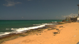 HD2008-8-14-14 San Juan beach Stock Video Footage