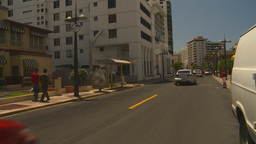 HD2008-8-14-16 San Juan street traffic Stock Video Footage