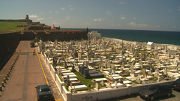 HD2008-8-14-30 San Juan cemetary Stock Video Footage