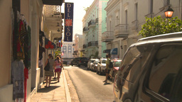 HD2008-8-14-32 San Juan old town Stock Video Footage