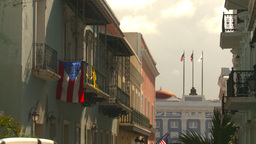 HD2008-8-14-34 San Juan old town Stock Video Footage