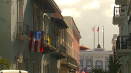 HD2008-8-14-34 San Juan old town Stock Video Footage