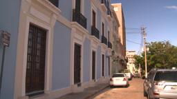 HD2008-8-14-50 San Juan old town buildings Stock Video Footage