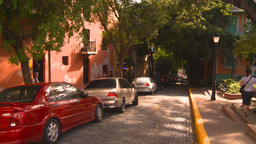 HD2008-8-14-52 San Juan old town buildings Stock Video Footage