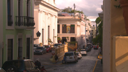 HD2008-8-14-56 San Juan old town buildings Footage