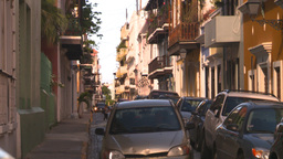 HD2008-8-14-58 San Juan old town buildings Footage