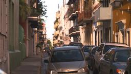 HD2008-8-14-58 San Juan old town buildings Footage