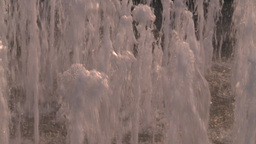 HD2008-8-14-60 San Juan old town water fountain Stock Video Footage