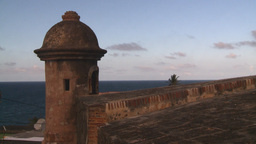 HD2008-8-14-64 San Juan old town fort Stock Video Footage