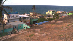 HD2008-8-14-66 San Juan old town ghetto Footage