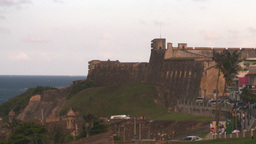 HD2008-8-14-68 San Juan old town fort Stock Video Footage